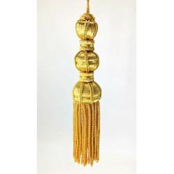 Borla de Canutillo de Oro (12,5cm)