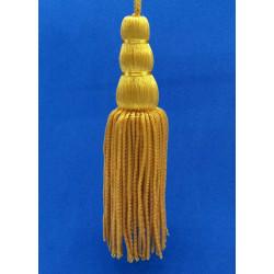 Borla de Canutillo de Oro (16cm)