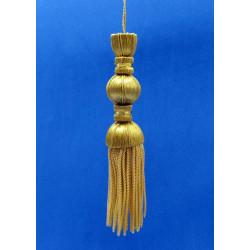 Borla de Canutillo de Oro (16,5cm)