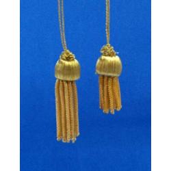 Borla de Canutillo de Oro (3,5cm/5,5cm)