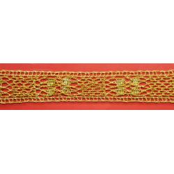 Encaje Dorado (3,5cm)