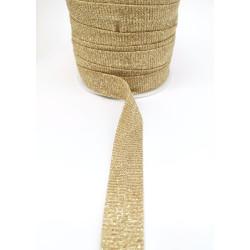 Galones Dorados (1 cm/ 1,5 cm/ 1,9 cm/ 2,4 cm)