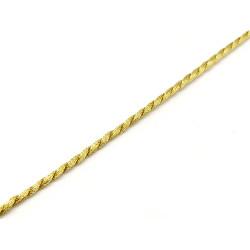 Cordón Dorado (2 mm)