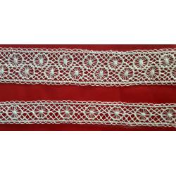 Encaje de Valencien Beig (Entredos 2,5 cm y Entredos 1,5 cm)