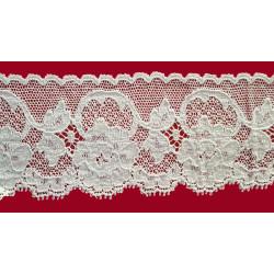 Encaje de Valencien Beig (5,5 cm)