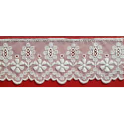 Organza Bordada (5,5 cm)