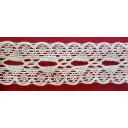 Pasacinta de Bolillo Blanco (4,5 cm)