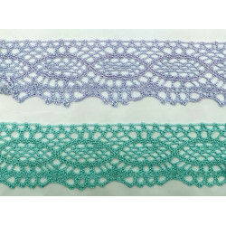 Encaje de Bolillo Color (4 cm)