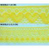 Encaje de Bolillo Color (6 cm y 5,5 cm)
