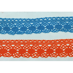Puntilla Encaje de Bolillo Color (3 cm)