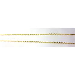 Cordón de imitación de oro entrefino entorchado