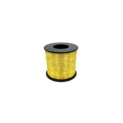 (Pieza completa) Cordón de imitación de oro entrefino muestra