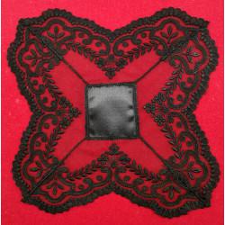 Pañuelo Negro (20x20 cm)