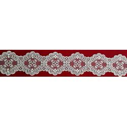 Tul Bordado Metalizado (6 cm)