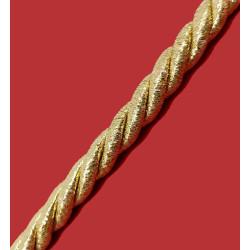 Cordón Dorado Lúrex (9 mm)