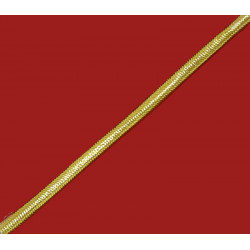Cordón Dorado Lúrex (5 mm)