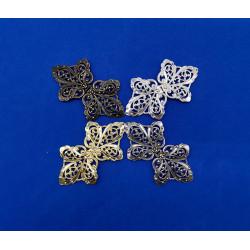 Broche metalizado (8,5 cm)
