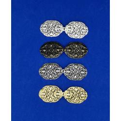 Broche Metalizado (9,5 cm)