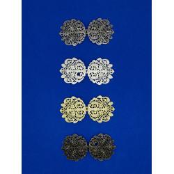 Broche Metalizado (10 cm)
