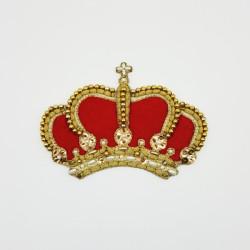 CORONA DE RECORTE HECHA A MANO (10,5x15,4cm)