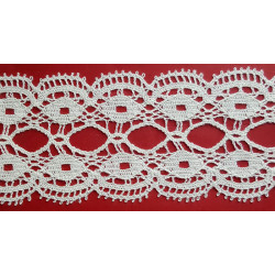 Encaje de Bolillo Beige (7 cm)