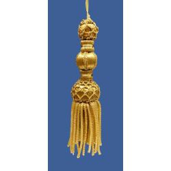 Borla de Canutillo de Oro (13 cm)