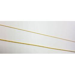 (Metros sueltos) Cordón de imitación de oro entrefino torzal