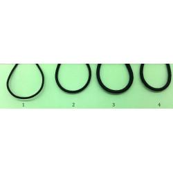 Cordón de Goma (Grosor: 1, 2, 3 y 4)