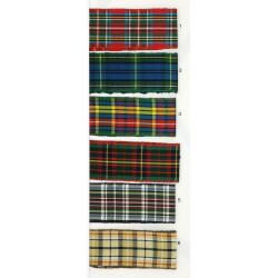 Cinta Escocesa (1 cm/ 1,8 cm/2,6 cm y 4 cm)
