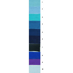 Cinta Alpaca Gama Azul (3 cm)