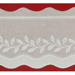 Tira bordada blanca (12,5 cm)