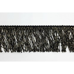 FLECO DE LAMÉ NEGRO (4,5cm)