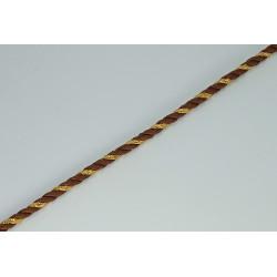 Cordón de seda y metalizado(1 cm)