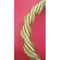 Cordón metalizado oro