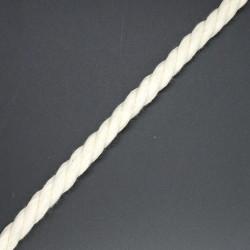 Cordón de algodón beige (0,8 cm)