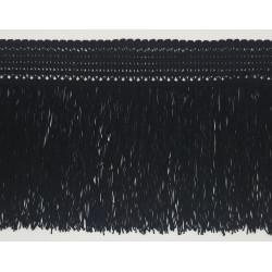 Fleco de Seda Negro(18 cm)