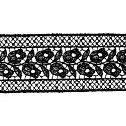 GUIPUR NEGRO (5,7cm)