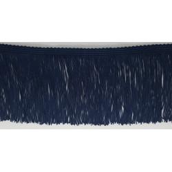 Fleco de seda Marino (10 cm)