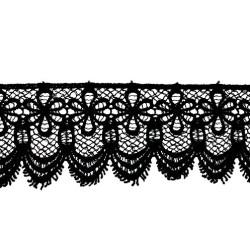 GUIPUR NEGRO (6,5cm)