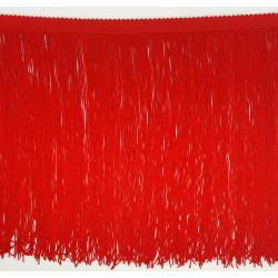 Fleco de seda Rojo (25 cm)