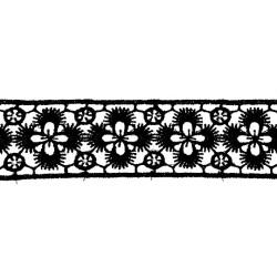 GUIPUR NEGRO (3cm)
