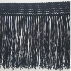 Fleco de seda Marino (25 cm)