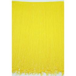 Fleco de seda Amarillo (50 cm)