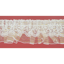 Encajes de Nylon Beige (1 cm)