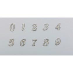 Números (2,5-3 cm)