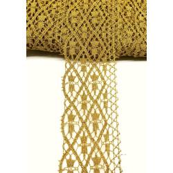 ENCAJE DORADO (4,5cm)