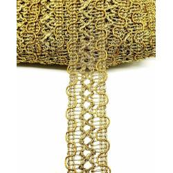 Agremán Dorado (2,5cm)
