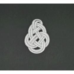 Aplicación Plateada (8,5cm)
