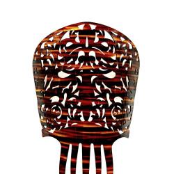 Teja Color Concha (Largo sin púas 18cm)